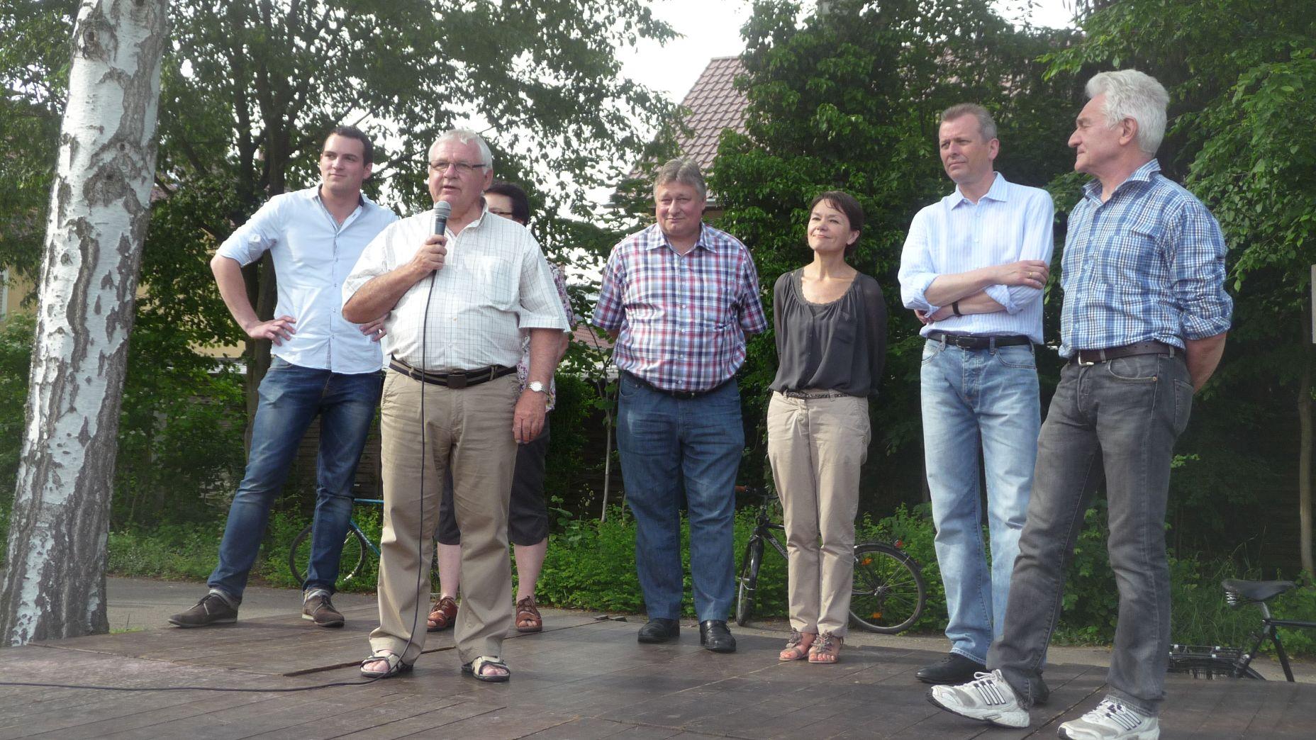 Stadtteilfest 2013 Kandidaten-Präsentation
