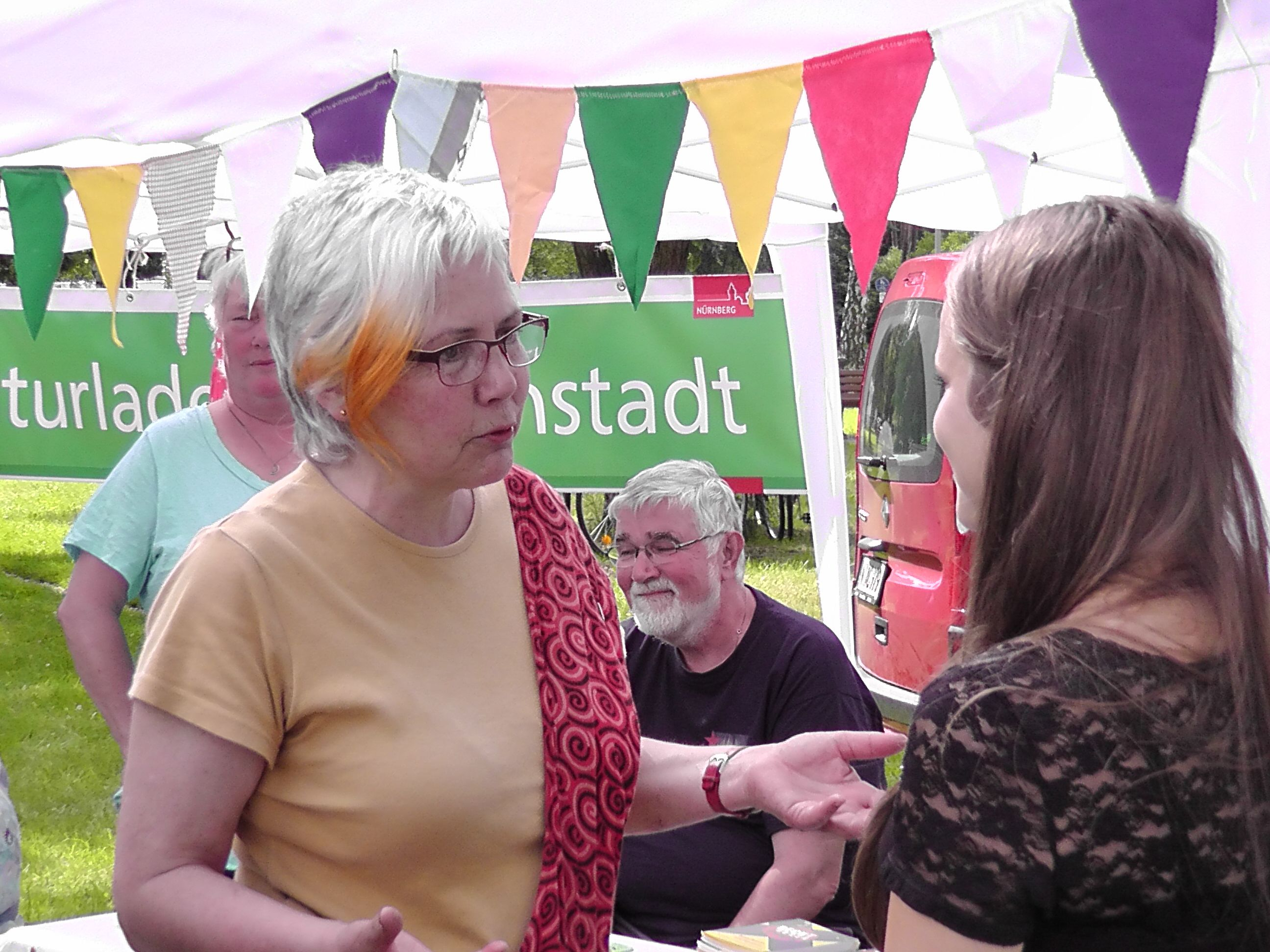 Stadtteilfest 2013 Bunter Tisch Gartenstadt