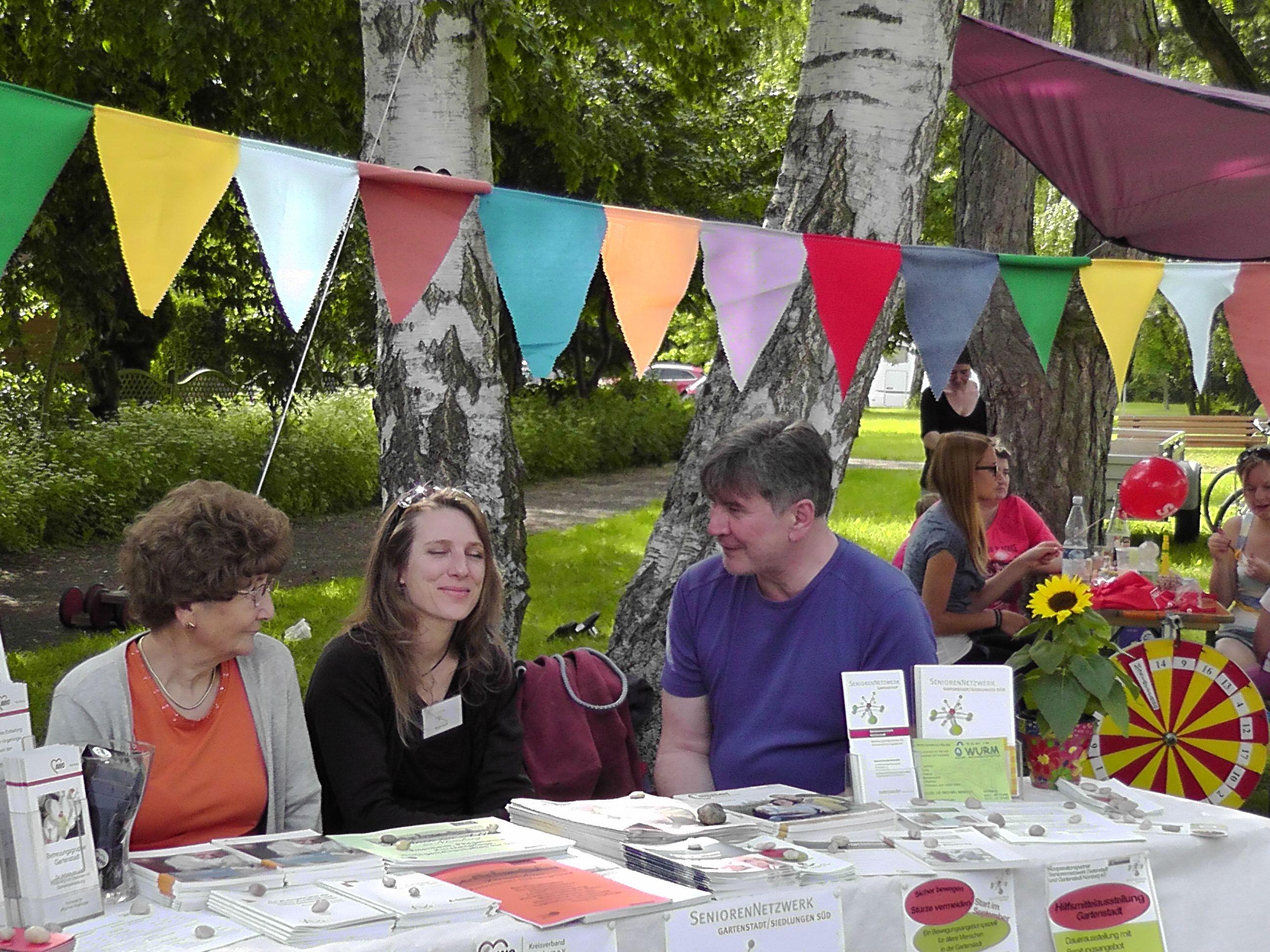 Stadtteilfest 2013, Seniorennetzwerk