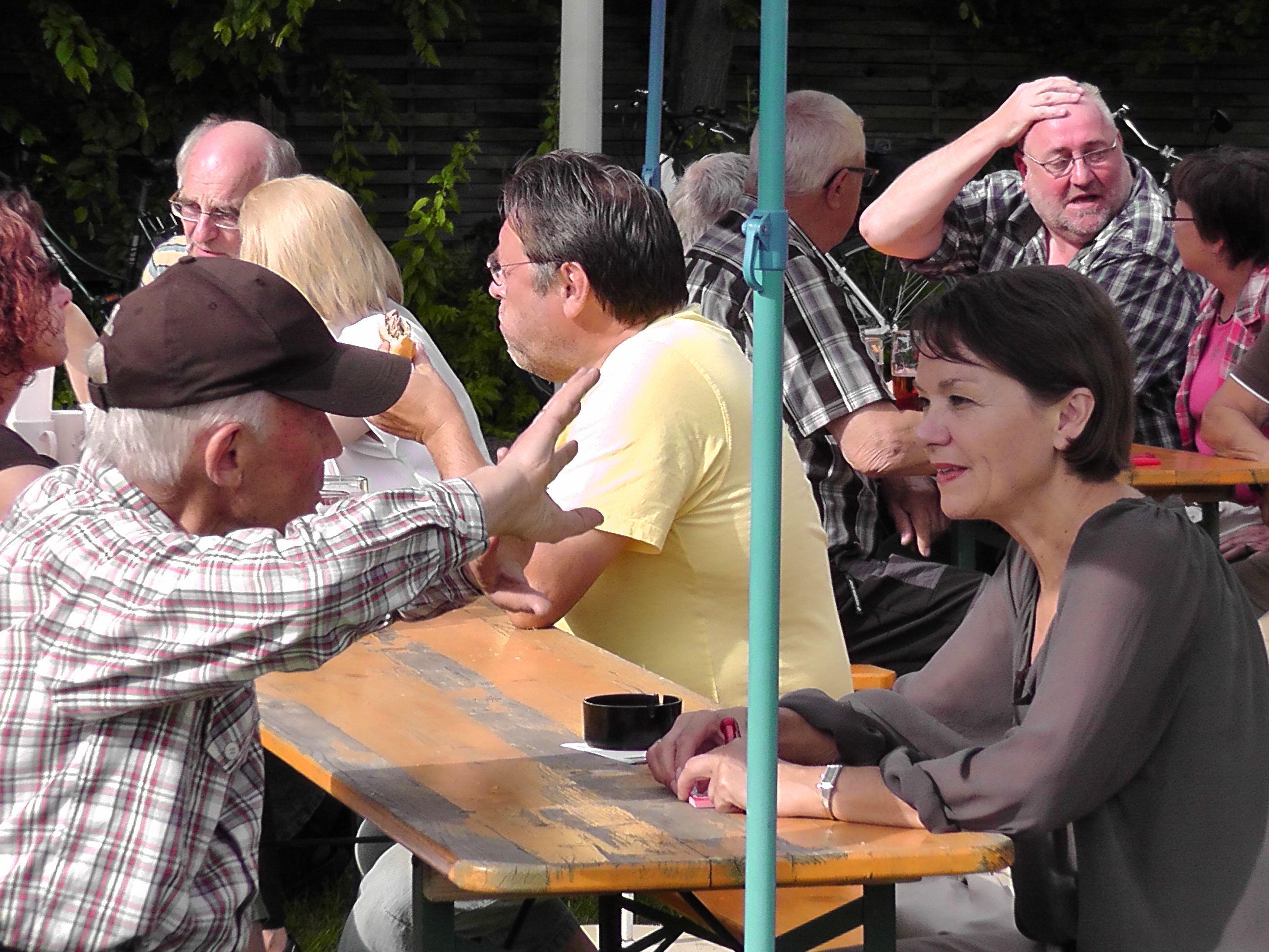 Stadtteilfest 2013 Im Gespräch