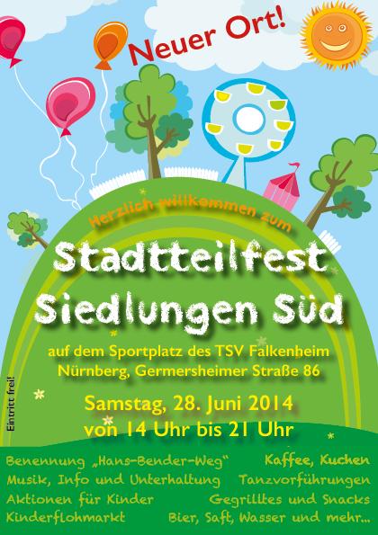 Stadtteilfest Titelseite